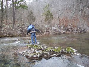 Brent, looking for the trail