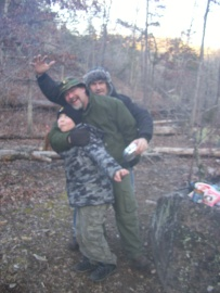Campsite shenanigans