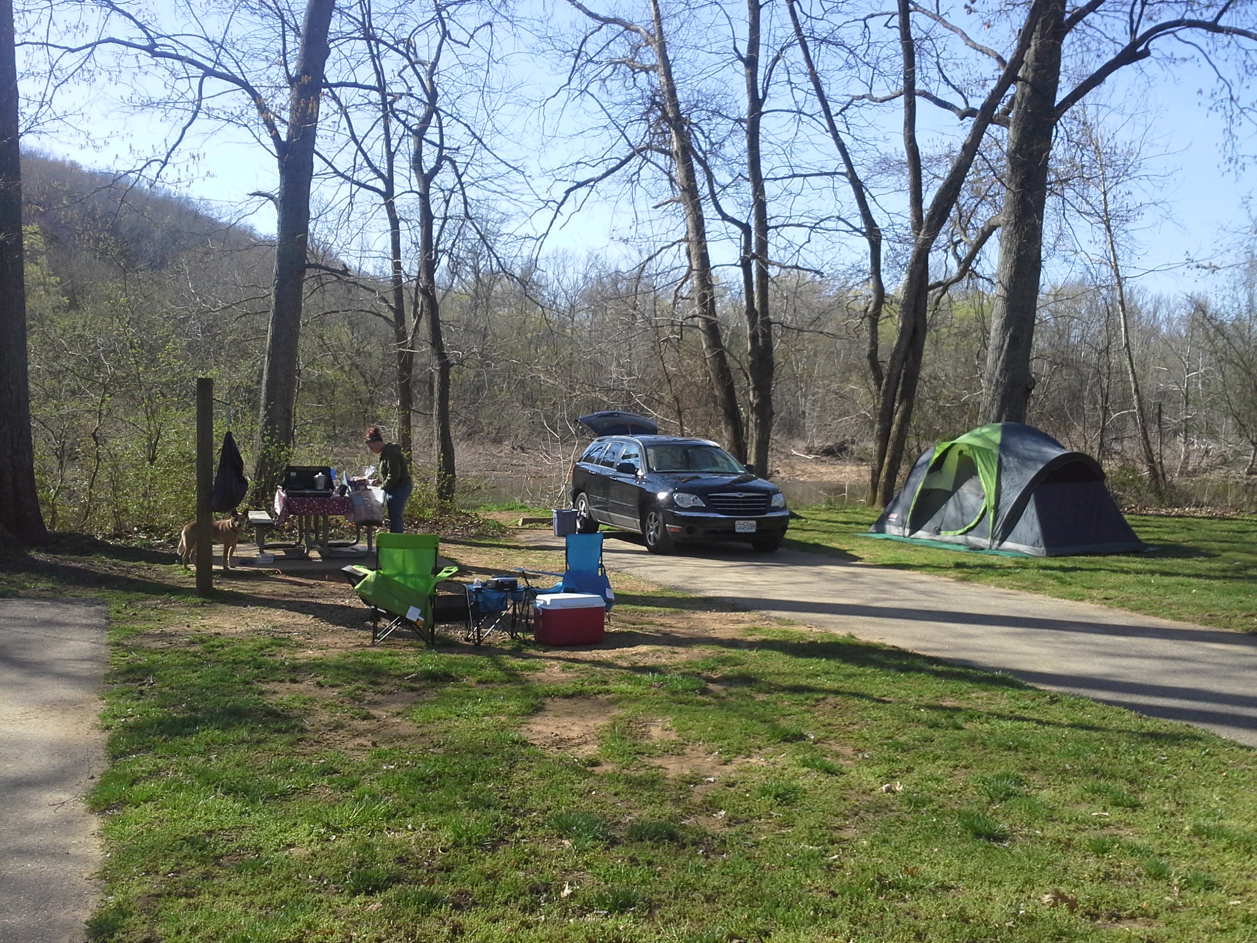 Sam a baker state park patterson mo 4 12 2013 camping for Camping grounds with cabins