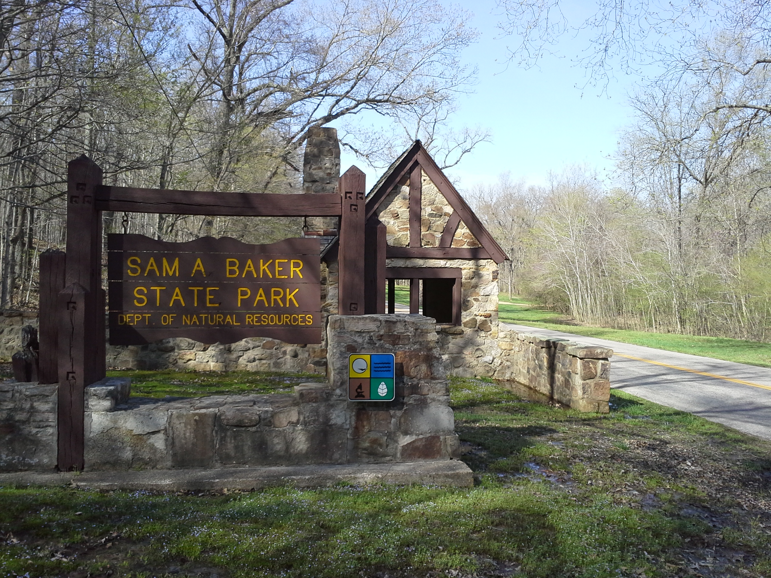 Sam A Baker State Park Patterson Mo 4 12 2013 Camping